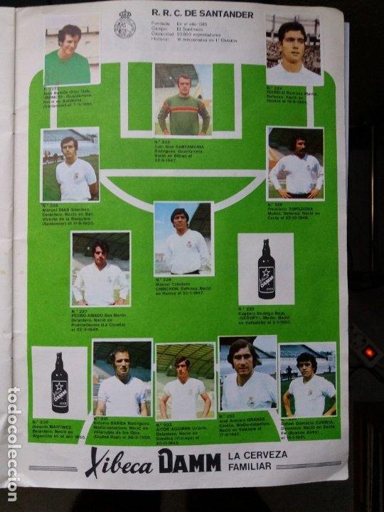 Coleccionismo deportivo: ÁLBUM FÚTBOL XIBECA SPORT. CERVEZAS DAMM. 1973. INCOMPLETO, FALTAN 5 CROMOS. - Foto 20 - 178289618