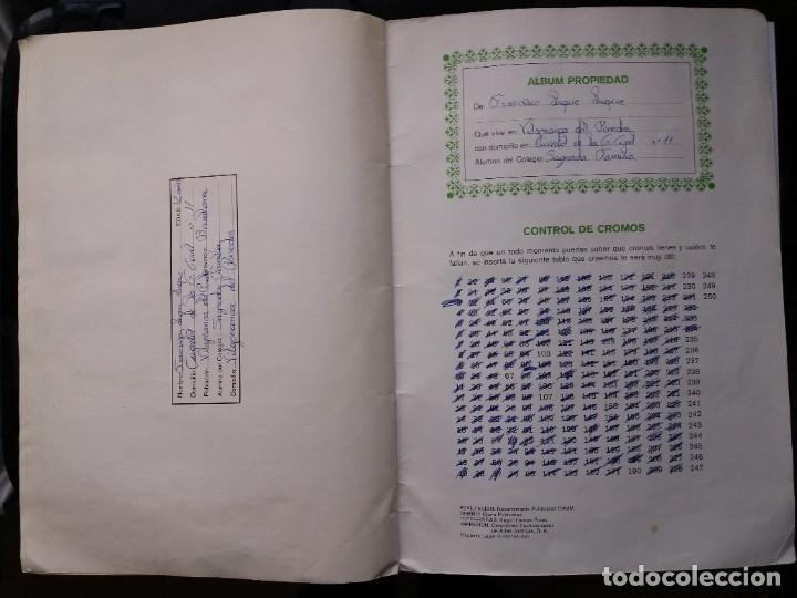 Coleccionismo deportivo: ÁLBUM FÚTBOL XIBECA SPORT. CERVEZAS DAMM. 1973. INCOMPLETO, FALTAN 5 CROMOS. - Foto 25 - 178289618