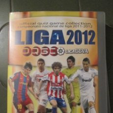 Coleccionismo deportivo: ALBUM CROMOS LIGA 2012. LIGA BBVA. OFFICIAL QUIZ GAME COLLECTION. 2011 - 2012. MUNDI CROMO. Lote 178307787