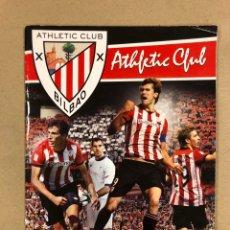 Coleccionismo deportivo: ÁLBUM DE CROMOS OFICIAL DEL ATHLETIC CLUB TEMPORADA 2011/2012. PLANCHA (VACIO).. Lote 178347236