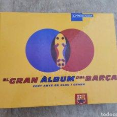 Coleccionismo deportivo: GRAN ALBUM DEL BARÇA, FICHAS COLECCIONABLES LA VANGUARDIA. Lote 178347602