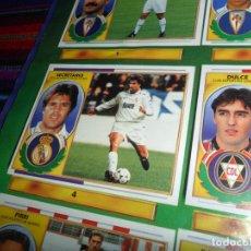 Coleccionismo deportivo: CON SECRETARIO ESTE LIGA 96 97 1996 1997 INCOMPLETO. REGALO PANINI LIGA 95 96 1995 1996 INCOMPLETO.. Lote 178575225