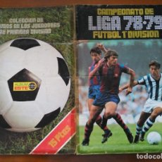 Coleccionismo deportivo: ALBUM CAMPEONATO DE LIGA ESTE ESPAÑA 78 79 1978 1979. Lote 178580338