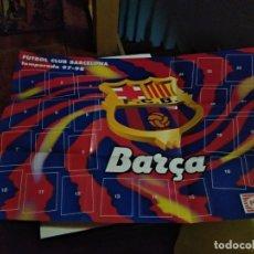 Coleccionismo deportivo: PANRICO FC BARCELONA 1997 98 ( ALBUM VACÍO Y NUEVO ). Lote 189342455