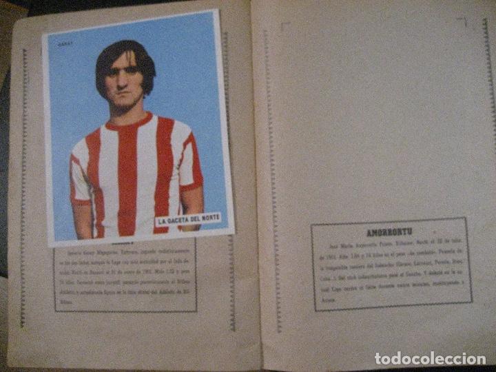 Coleccionismo deportivo: ALBUM LOS LEONES. ATHLETIC CLUB DE BILBAO. COMPLETO( A FALTA DE 1)GACETA DEL NORTE-SUCHARD. AÑO 1974 - Foto 11 - 178829643