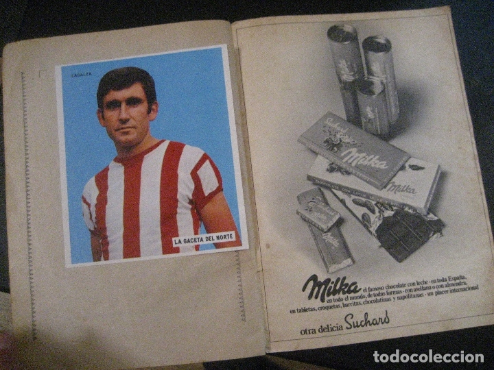 Coleccionismo deportivo: ALBUM LOS LEONES. ATHLETIC CLUB DE BILBAO. COMPLETO( A FALTA DE 1)GACETA DEL NORTE-SUCHARD. AÑO 1974 - Foto 12 - 178829643