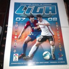 Coleccionismo deportivo: ALBUMS ED. ESTE 2007 08 Y EURO 2008 NUEVOS Y VACIOS. Lote 178869031