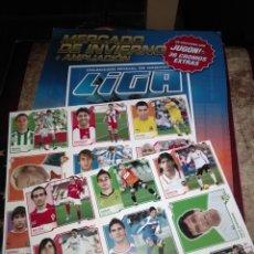 Coleccionismo deportivo: MERCADO INVIERNO 2007 08 ( MINI ALBUM NUEVO Y VACÍO + 18 CROMOS SIN PEGAR). Lote 178869258