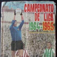Coleccionismo deportivo: ALBUM CAMPEONATO DE LIGA 1964-1965 - SOLO FALTA 1 CROMO - DISGRA -. Lote 178876006