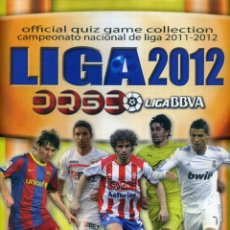 Coleccionismo deportivo: LIGA 2012 BBVA OFFICIAL QUIZ GAME COLLECTION. Lote 178993430