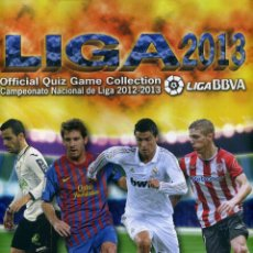 Coleccionismo deportivo: OFFICIAL QUIZ GAME COLLECTION 2013 LIGA BBVA. Lote 178993507