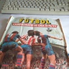Coleccionismo deportivo: ALBUM DE FUTBOL CAMPEONATO DE LIGA 1976/77 EDICIONES ESTE. Lote 179006922