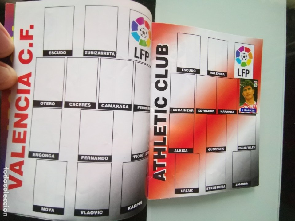 Coleccionismo deportivo: ALBUM CROMOS FÚTBOL CHICLE CAMPEÓN LIGA 96 97 - SOCCER CHEWING GUM ALBUM - Foto 4 - 179053303