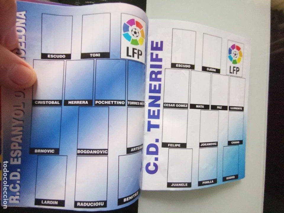 Coleccionismo deportivo: ALBUM CROMOS FÚTBOL CHICLE CAMPEÓN LIGA 96 97 - SOCCER CHEWING GUM ALBUM - Foto 5 - 179053303