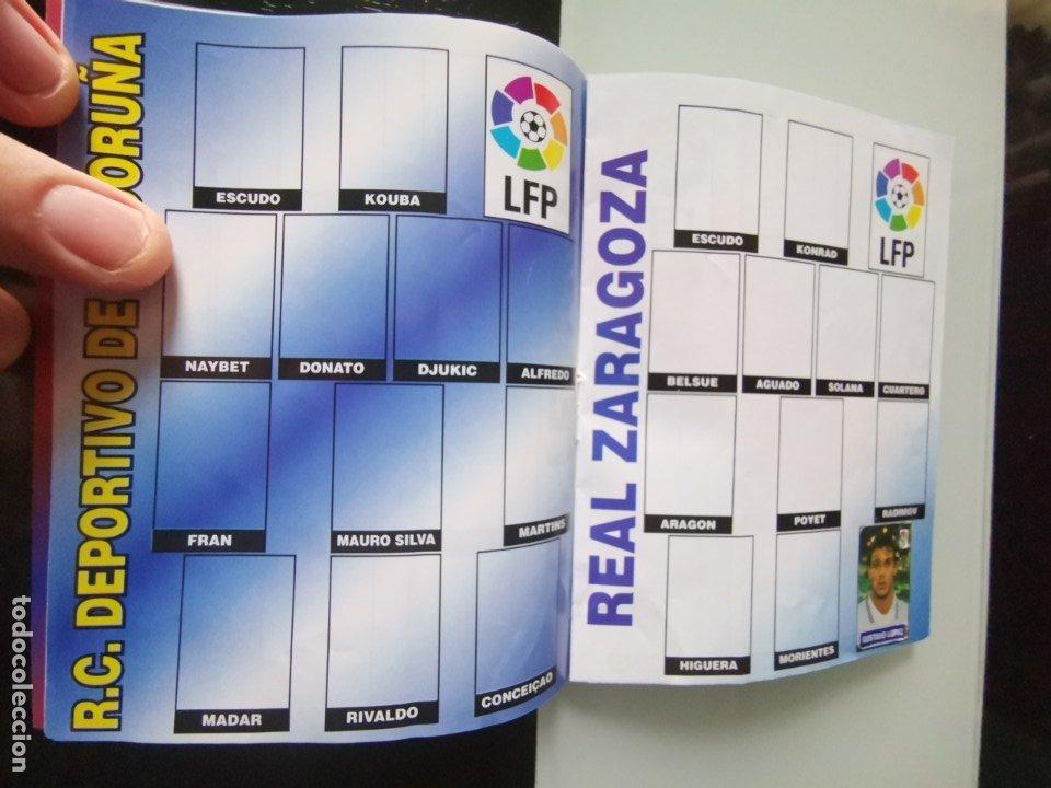 Coleccionismo deportivo: ALBUM CROMOS FÚTBOL CHICLE CAMPEÓN LIGA 96 97 - SOCCER CHEWING GUM ALBUM - Foto 6 - 179053303