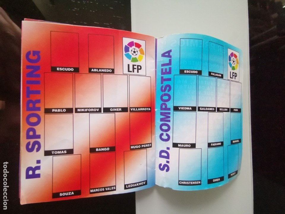 Coleccionismo deportivo: ALBUM CROMOS FÚTBOL CHICLE CAMPEÓN LIGA 96 97 - SOCCER CHEWING GUM ALBUM - Foto 12 - 179053303