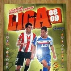 Coleccionismo deportivo: ALBUM LIGA EDICIONES ESTE 2008 2009 VACIO PLANCHA. Lote 179095690