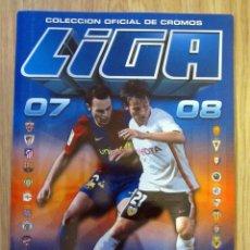 Coleccionismo deportivo: ALBUM LIGA EDICIONES ESTE 2007 2008 VACIO PLANCHA. Lote 179095801