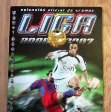 Coleccionismo deportivo: ALBUM LIGA EDICIONES ESTE 2006 2007 CONTIENE 190 CROMOS PEGADOS. Lote 179096165