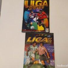 Coleccionismo deportivo: LOTE ALBUM LIGA 97/98 Y 98/99 PARA RECUPERAR CROMOS. Lote 179171550