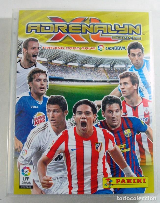 ALBUM CROMOS FUTBOL. PANINI. ADRENALYN XL 2011 – 12 (Coleccionismo Deportivo - Álbumes y Cromos de Deportes - Álbumes de Fútbol Incompletos)