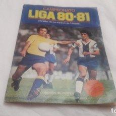 Colecionismo desportivo: ÁLBUM DE LA LIGA 1980-81 DE ESTE VACÍO. Lote 179244985