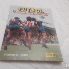 Coleccionismo deportivo: ALBUM DE LA LIGA 1976-77 ESTE VACÍO. Lote 179245013