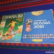 Coleccionismo deportivo: RUSIA 2018 FIFA WORLD CUP COMPLETO. PANINI. REGALO ESPAÑA 82 MUNDIAL DE FÚTBOL INCOMPLETO.. Lote 180098296