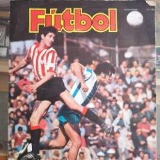 Coleccionismo deportivo: ALBUM FUTBOL EDIC ESTE 77 78 1977 1978 CON 281 CROMOS FACILMENTE DESPEGABLES INCLUYE 12 FICHAJES MBC. Lote 180105587