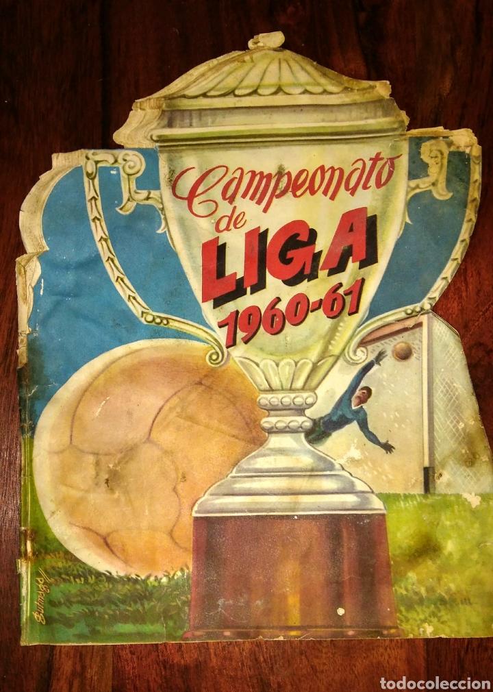 ALBUM DE FÚTBOL CAMPEONATO DE LIGA 1960-61 EDITORIAL FHER (Coleccionismo Deportivo - Álbumes y Cromos de Deportes - Álbumes de Fútbol Incompletos)