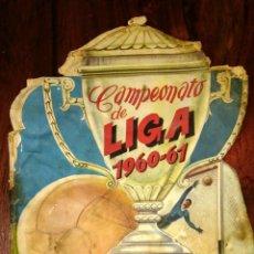 Coleccionismo deportivo: ALBUM DE FÚTBOL CAMPEONATO DE LIGA 1960-61 EDITORIAL FHER. Lote 180147125