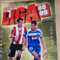 Coleccionismo deportivo: ALBUM EDICIONES ESTE 2008-09 TIENE 305 CROMOS. Lote 180225462