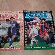 Coleccionismo deportivo: LOTE DE 2 ALBUNES LIGA 2010-2011 Y 2011-2012 VACIOS. Lote 180894336
