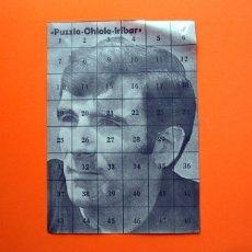 Colecionismo desportivo: PUZZLE, PUZLE - CHICLE - IRIBAR ATHLETIC DE BILBAO - ALBUM SIN CROMOS - VACIO -. Lote 180955023