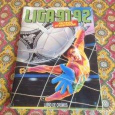Coleccionismo deportivo: ALBUM 91-92 ESTE INCOMPLETO. Lote 181078233