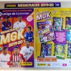 Coleccionismo deportivo: PORTADAS COLECCIÓN MEGACRACKS 2019 2020 19 20 PANINI ÁLBUM ARCHIVADOR CROMOS LIGA FÚTBOL MEGA CRACKS. Lote 194549556
