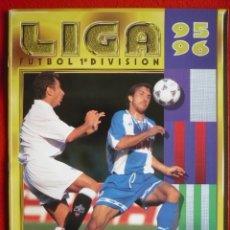 Coleccionismo deportivo: ALBUM EDICIONES ESTE 1995-1996 INCOMPLETO. PARA COMPLETAR, O APROVECHAR CROMOS. ESTE 95-96. Lote 181094516