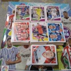 Coleccionismo deportivo: PANINI - LIGA ESPAÑOLA 2017 18 ( ALBUM + 700 CROMOS ). Lote 181407895