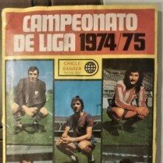 Coleccionismo deportivo: CAMPEONATO DE LIGA 1974/75 . Lote 181437686