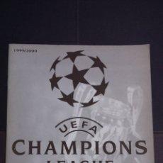 Coleccionismo deportivo: ALBUM VACIO UEFA CHAMPIONS LEAGUE 1999 2000 - PANINI. Lote 181519376