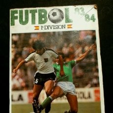 Coleccionismo deportivo: FUTBOL 83 84 (AÑO 1983) ALBUM CROMOS 1ª DIVISION INCOMPLETO CON 257 CROMOS - ED. CROMOS CANO - LIGA. Lote 181689662