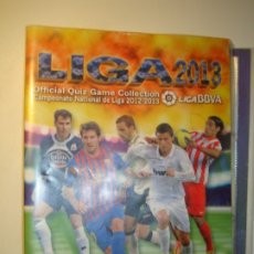 Coleccionismo deportivo: OFFICIAL QUIZ GAME COLLECTION LIGA 2013 (ALBUM VACIO) - MUNDI CROMO CAMPEONATO 2012-2013. Lote 182037280