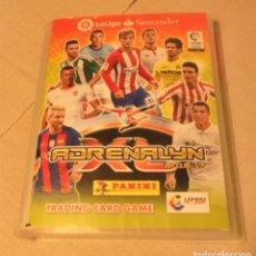 Coleccionismo deportivo: ALBÚM DE CROMOS PANINI FUTBOL LA LIGA ADRENALYN 2016-17 CON 460 CARDS. Lote 182047618