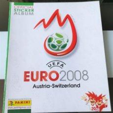 Coleccionismo deportivo: ÁLBUM CROMOS UEFA EURO 2008 AUSTRIA SWITZERLAND VACÍO PLANCHA. Lote 182110235