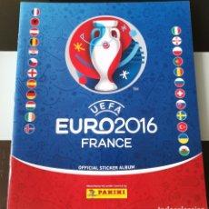 Coleccionismo deportivo: ÁLBUM CROMOS UEFA EURO 2016 FRANCE - FRANCIA VACÍO PLANCHA. Lote 182110620