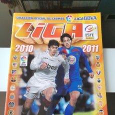 Coleccionismo deportivo: ÁLBUM CROMOS FÚTBOL LIGA ESTE 2010 2011 VACÍO. Lote 182435836