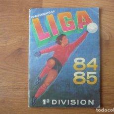 Coleccionismo deportivo: ALBUM CAMPEONATO LIGA CANO 1984 1985 VACIO CON SEÑALES CROMOS DESPEGADOS - FUTBOL 84 85. Lote 182630008
