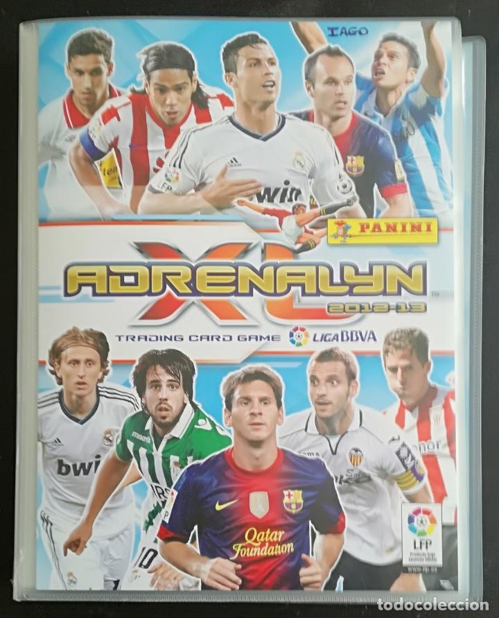ALBUM DE FUTBOL ADRENALYN 2012-13; PANINI - CONTIENE 354 CROMOS; INCLUYE 2 EDICION ESPECIAL (Coleccionismo Deportivo - Álbumes y Cromos de Deportes - Álbumes de Fútbol Incompletos)
