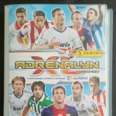 Coleccionismo deportivo: ALBUM DE FUTBOL ADRENALYN 2012-13; PANINI - CONTIENE 354 CROMOS; INCLUYE 2 EDICION ESPECIAL. Lote 182649427