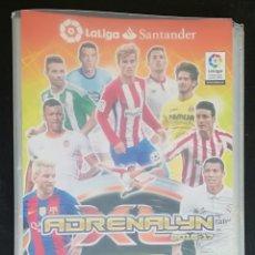 Coleccionismo deportivo: ALBUM DE FUTBOL ADRENALYN, TEMPORADA 2016-17 - CON 465 CROMOS; INCLUYE 8 EDICION LIMITADA. Lote 182697150